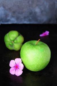 purea di mela e topinambur